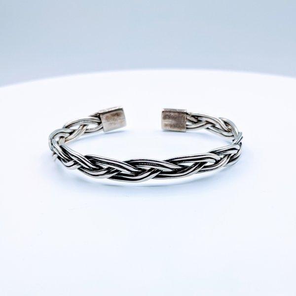 Bracelet Native American Twist Cuff SS 219050051