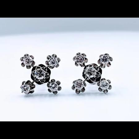 Earrings Diamond 5-Stone 1.0ctw 14kw 219050061