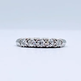 Ring .35ctw Dia Band Plat Sz5 119050057