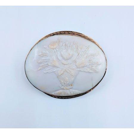 Brooch Cameo Shell GF 219050018
