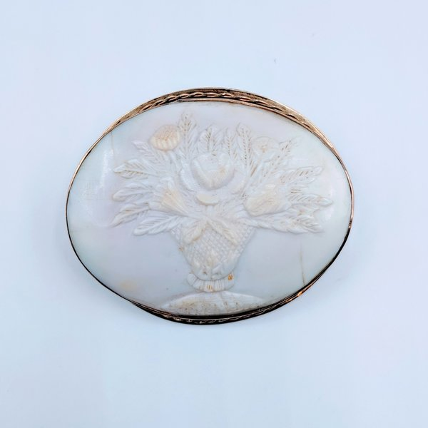 Brooch Cameo Shell GF 219050018