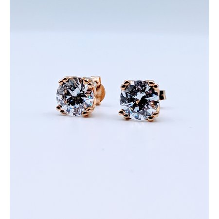 Earrings CZ Studs 14ky Earrings 219060033