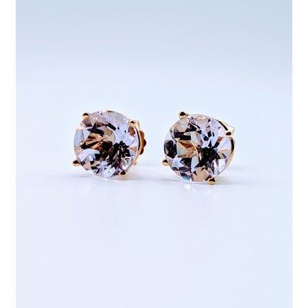 Earrings Amethyst 14ky Studs 219060080