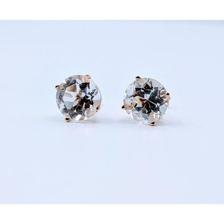 Earrings Sky Blue Topaz 14ky 219060135
