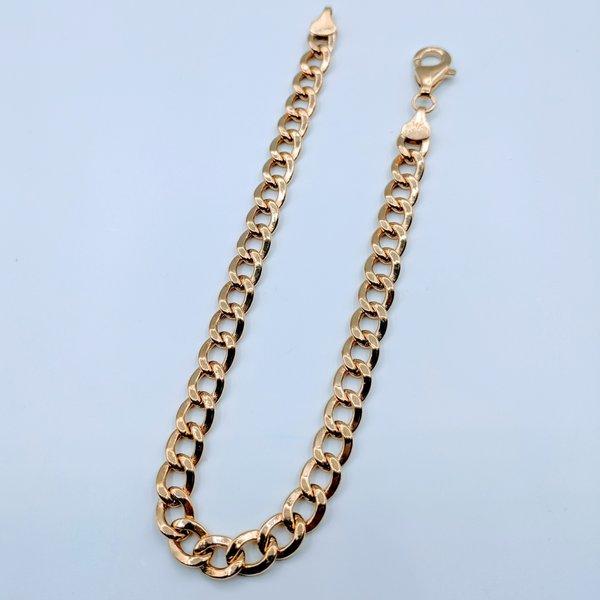 """Bracelet Curb Link 14ky 7"""" 419070433"""