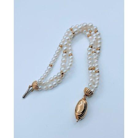 "Bracelet Pearl 18ky 6.75"" 219080060"