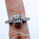 Ring 1.25ctw 5/8ct Radiant 14kw Sz5 119080085