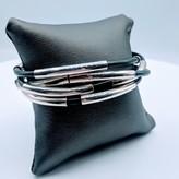 """Bracelet RLM Rubber SS 7.5"""" 219090008"""