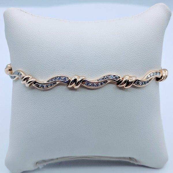 "Bracelet Diamond Tennis 1.0ctw 14ky 6.5"" 419090535"