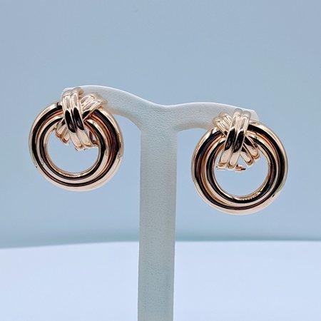 Earrings Multi Ring Omega 14ky 419090540