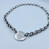 Necklace Tiffany & Co. Sterling Silver 925 Oval Choker 119100047