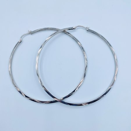 Earrings Large Hoop SS 219100094