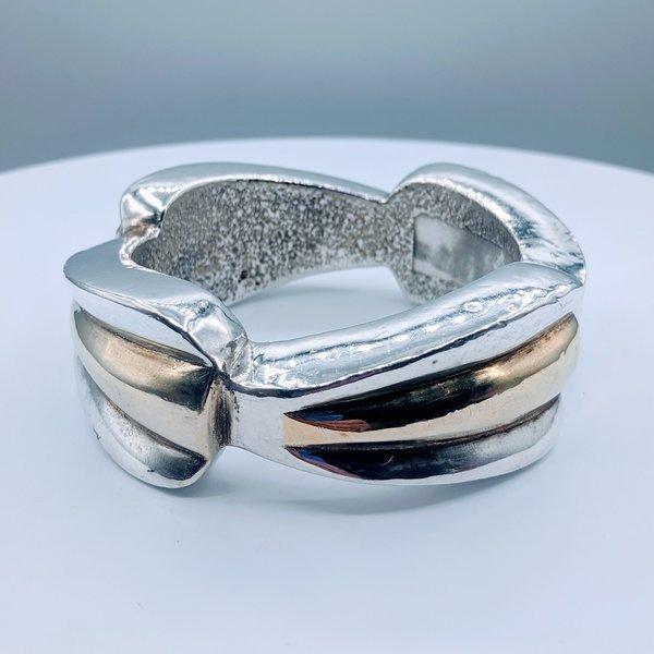 Bracelet Bangle Resin Filled SS 219100100