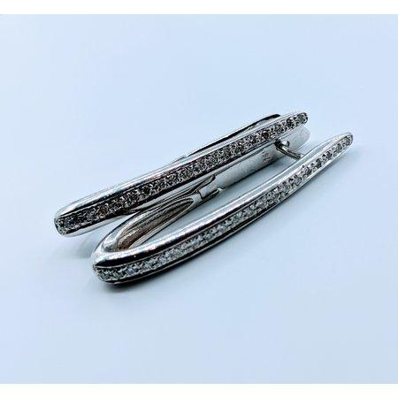 Earrings Hoops 1/8ctw 14kw 119100070