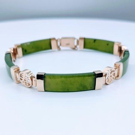 """Bracelet Jade 14ky 7.5"""" 219110009"""