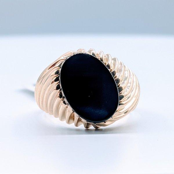 Ring Onyx 10ky Sz9.5 419110579