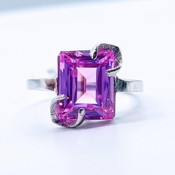 Ring Cr. Pink Sapphire 10kw Sz6 419110610