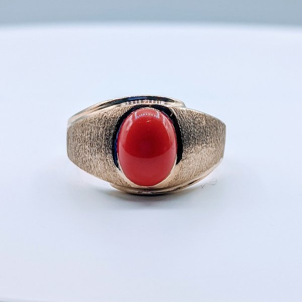 Ring Coral 10ky Sz 11.75 419110652