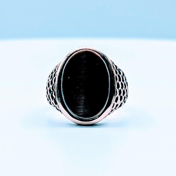 Ring Cat's Eye 10ky Sz9 419110655