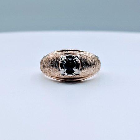 Ring Black Star Sapphire 10ky Sz11.5 419110659