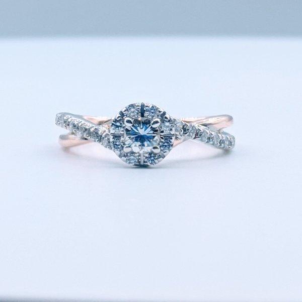 Ring 1/2ctw Diamond 14ktt Sz7 119110202