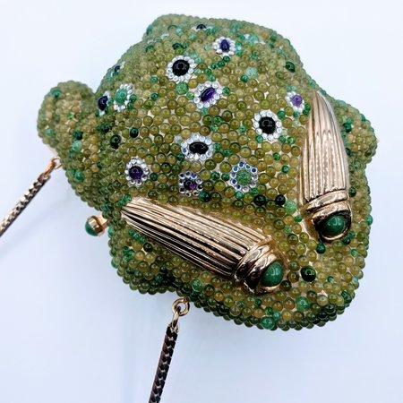 Handbag Judith Leiber Frog 219120011