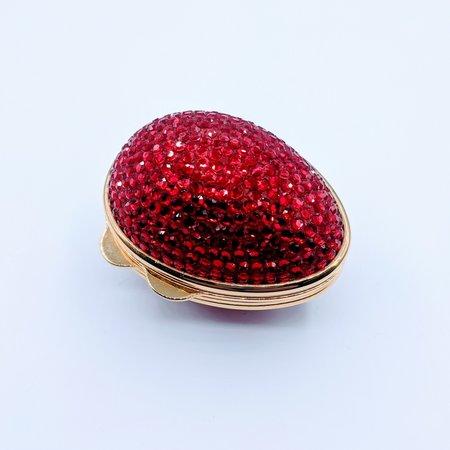 Handbag Judith Leiber Red Egg 219120014