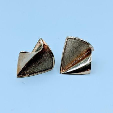 Earrings Fan Style 14ky 219120101