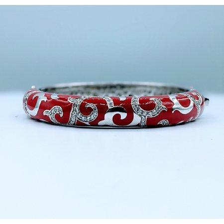 Bracelet Belle Etoile Red Enamel & Cz SS 219120031
