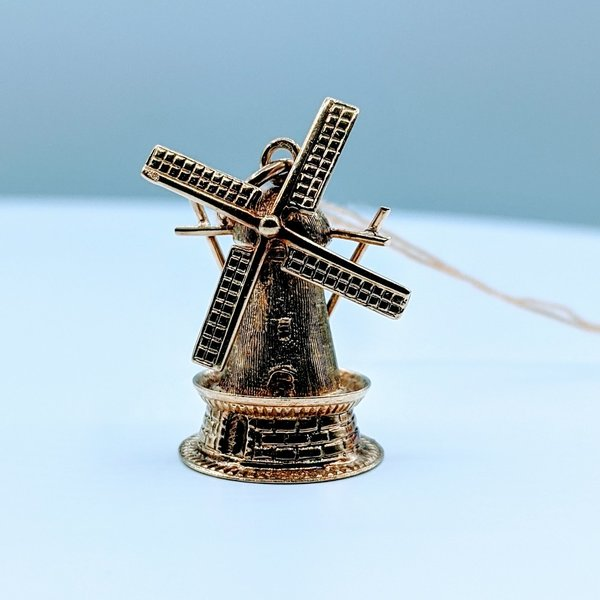 Pendant Charm Windmill 14ky 120010030