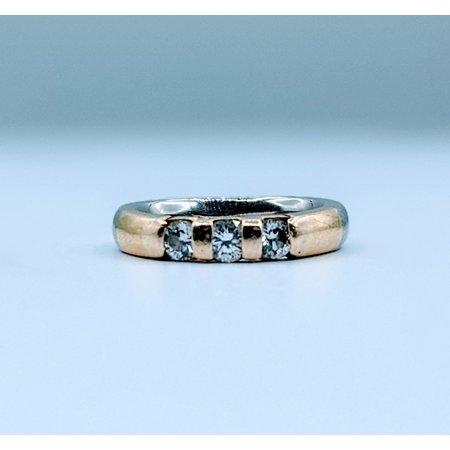Ring .40ctw Diamond Band Plat 18ky sz 4.5 220010025