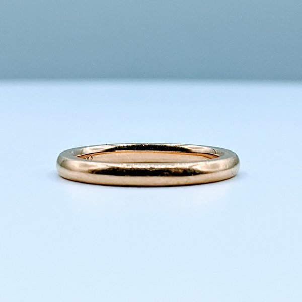 Ring Band 2.22mm 18ky sz4.5 220010023