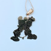 Pendant Mickey and Minnie Mouse 14ky 120010011