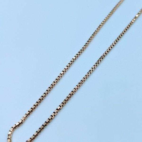 """Necklace 18"""" Box Link 14ky 120010017"""