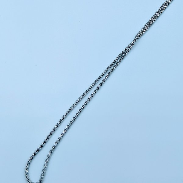 """Necklace 17"""" Rope Link 14kw 120010020"""