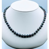 """Necklace Tahitian Pearl Strand 8mm 20"""" 14ky 220010065"""