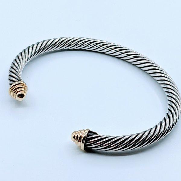Bracelet Yurman Cable 14ky 925 220010071