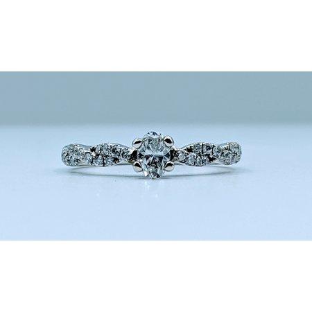 Ring 3/8ctw Diamond 14kw Sz5.25 119110203