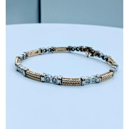 "Bracelet 1.60ctw Diamond 14ktt 7"" 120010052"