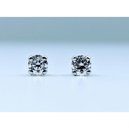 Earrings .17ctw G SI2 Diamond Stud 14kw 9402115901022925630214