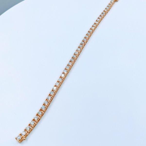 "Bracelet 10.03ctw Diamond Tennis 14ky 8"" 220020001"