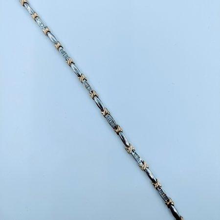 """Bracelet .50ctw H-I SI2 7"""" 18kwy 220020038"""