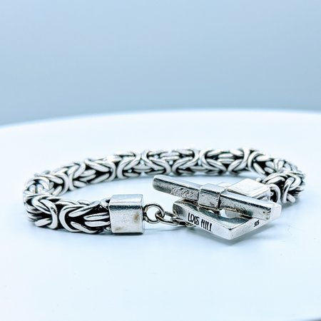 """Bracelet Lois Hill Byzantine 7.5"""" SS 220020060"""