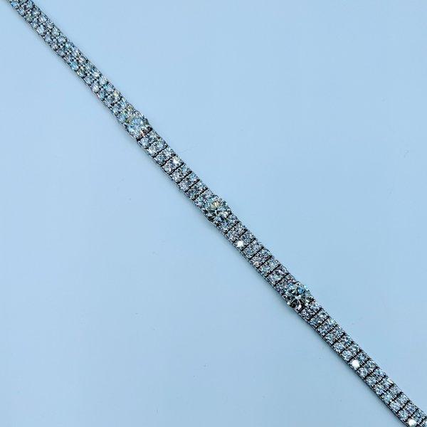 """Bracelet 7.69ctw Diamond 7"""" 18kw 220020077"""