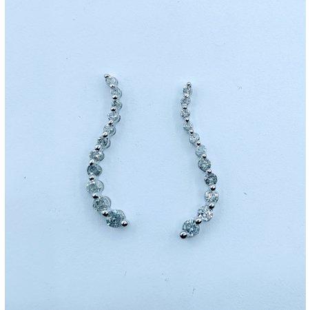 Earrings .40ctw Diamond Journey 120030030