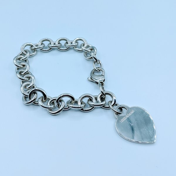 "Bracelet Tiffany Heart SS 7.5"" 220030002"