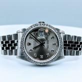 Watch Rolex 16220 Diamond Datejust Yr. 1988 36mm 1.00ctw 320030003
