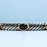 Bracelet Yurman Cuff Garnet 18k/SS 219050092