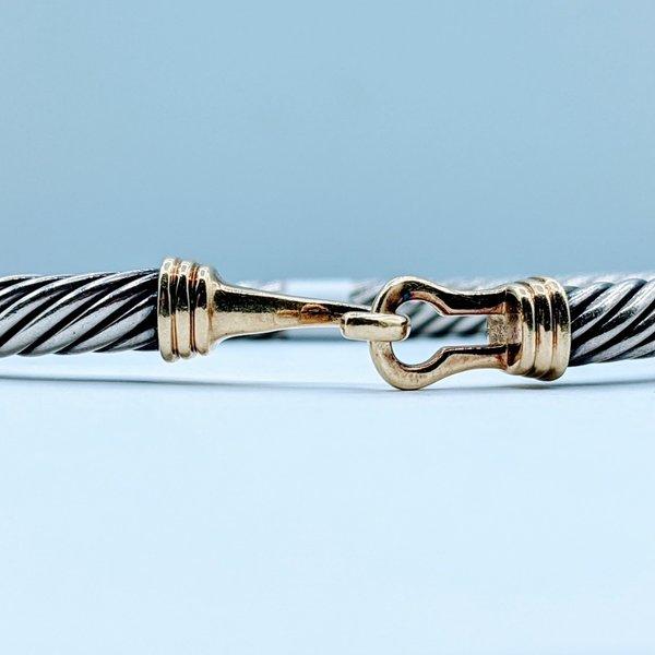 Bracelet David Yurman Cable 14ky 120020017