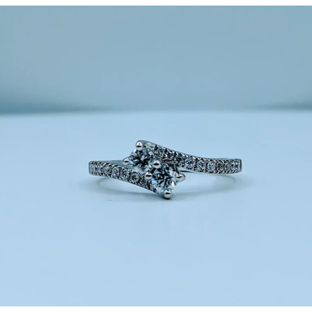 Ring 1/2ctw Diamond 14kw Sz6.75 119110204